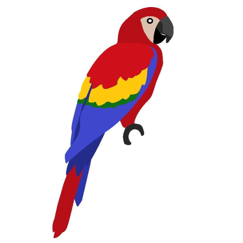 Macaw Clip Art-Macaw Clip Art-9
