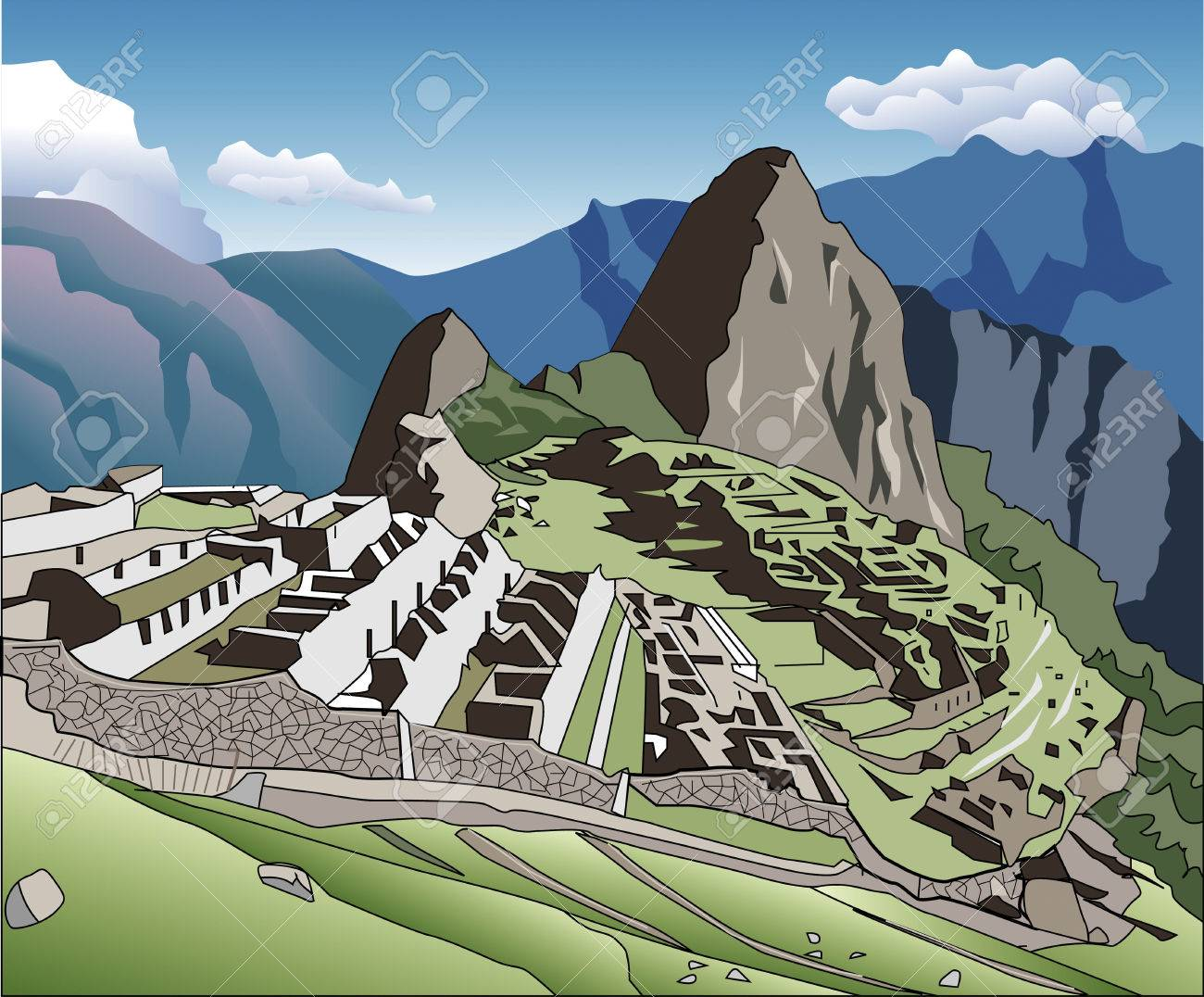 Machu Picchu-Machu Picchu-0