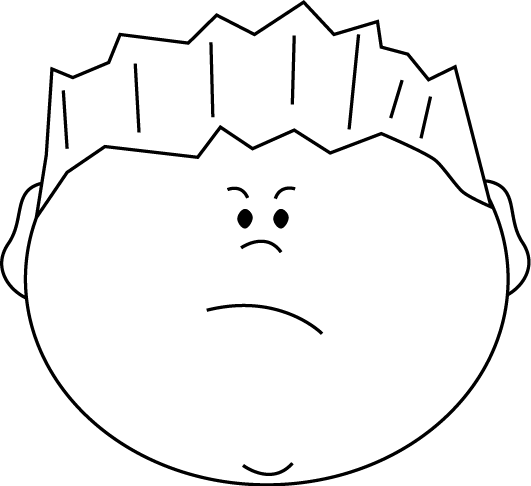 Mad face angry face clip art clipart