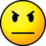 Mad Face Outline Clip Art. Angry Face Ma-Mad Face Outline Clip Art. Angry Face Mask; I DUZ THIS!-9