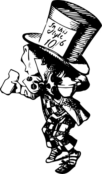 Mad Hatter clip art