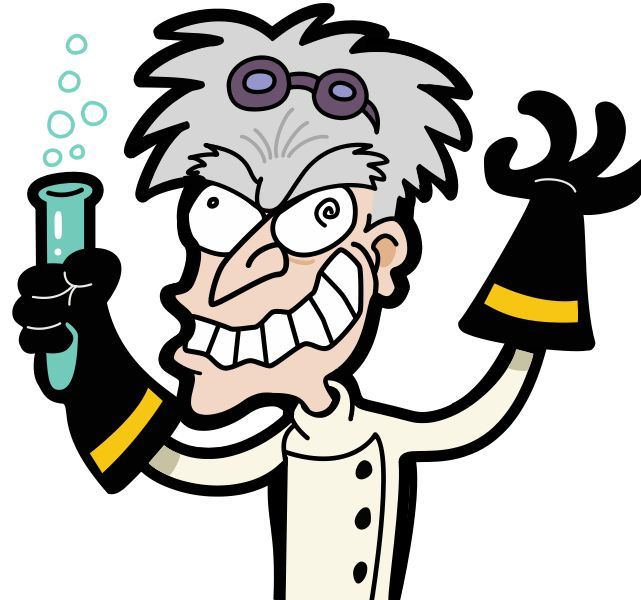 Mad Scientist Pictures Clip Art. Mad scientists, In maths and .