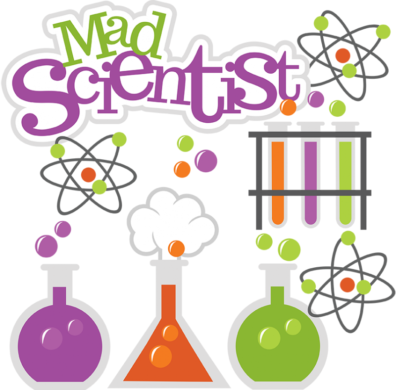 Mad Scientist Svg Science Svg Beaker Svg Test Tubes Svg File Atom Svg
