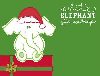 Made Earlier: Xmas Ideas 2011---number 2-made earlier: Xmas ideas 2011---number 2---White Elephant exchange 399 x 302. Download. White Elephant Game Invite Sample Clip Art ...-13