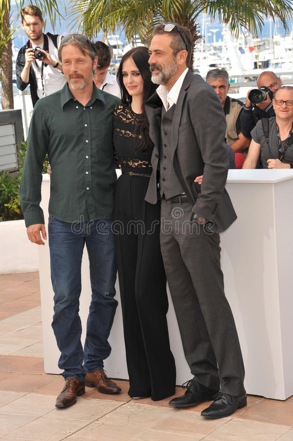 Download Eva Green u0026 Mads Mikkelsen u0026 Jeffrey Dean Morgan Editorial Photo -  Image of cannes
