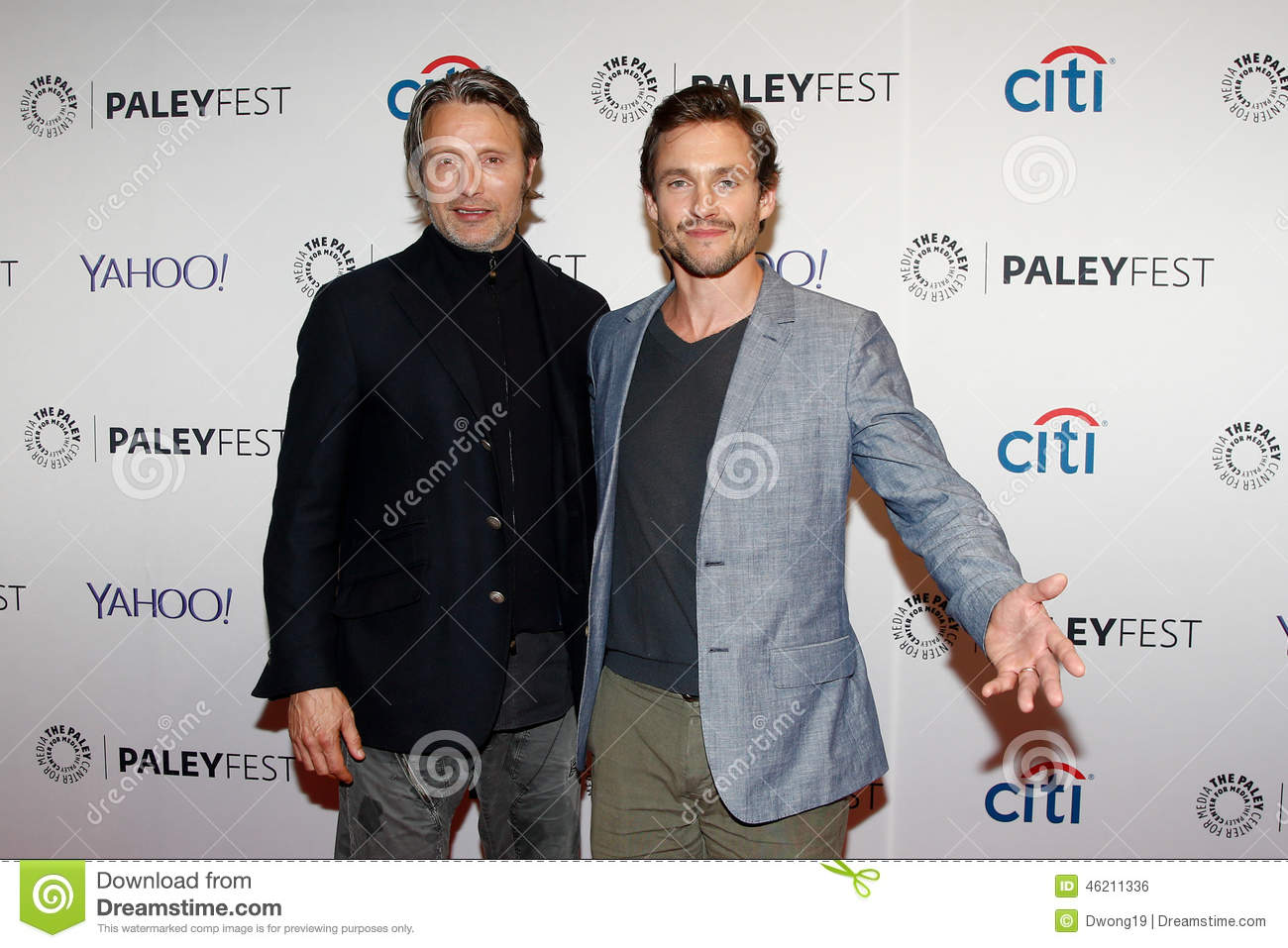 Mads Mikkelsen, Hugh Dancy editorial photo. Image of manhattan - 46211336