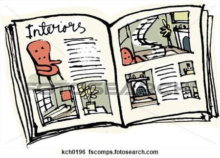 magazine clipart