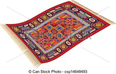Magic Carpet - illustration of magic car-Magic Carpet - illustration of magic carpet (flying carpet).-4