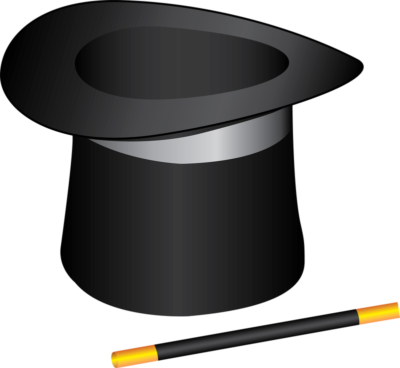 Magic Top Hat Clip Art