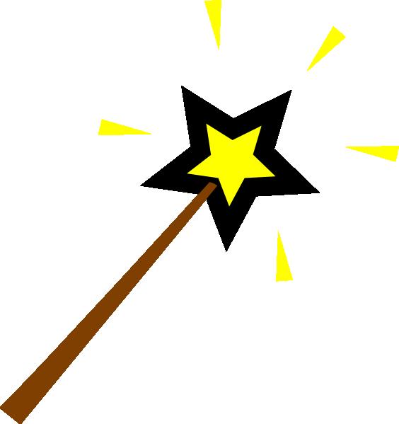 Magic Wand Clip Art At Clker Com Vector Clip Art Online Royalty
