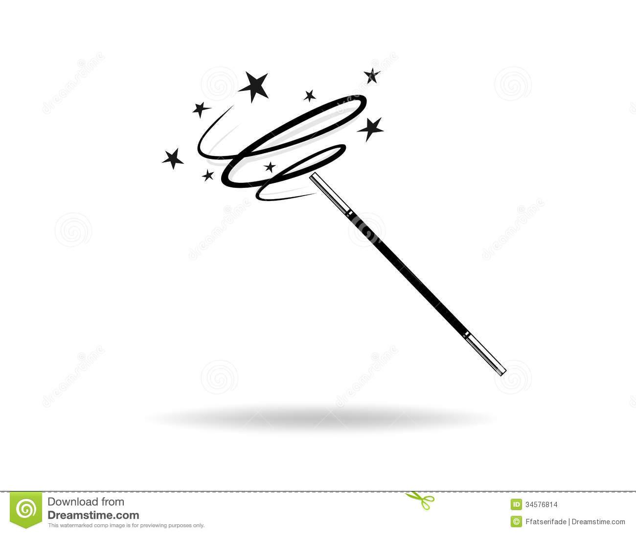Magic Wand Stock Images Image 34576814