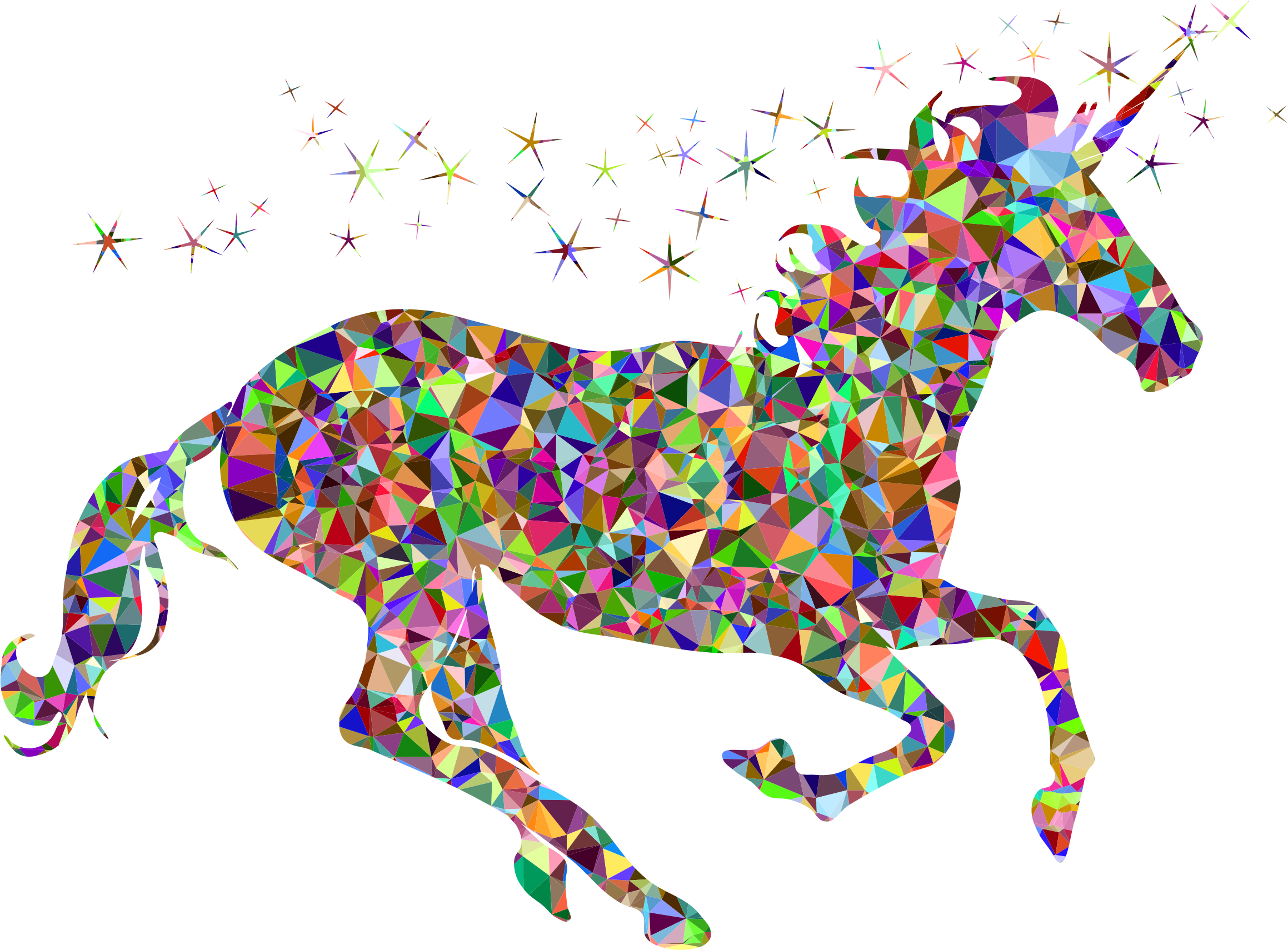 Magical unicorn clipart clipartall