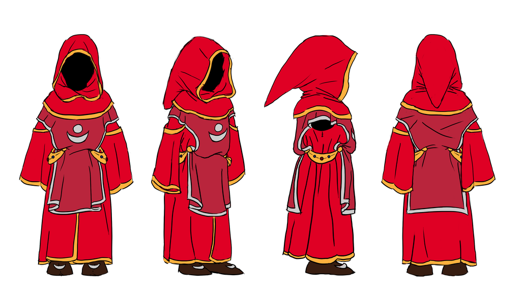 Character Clipart red riding