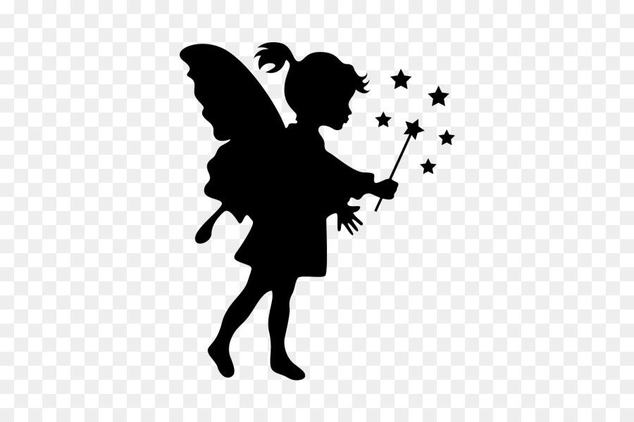 Tattoo Stencil Fairy Disney F - Magicka Clipart