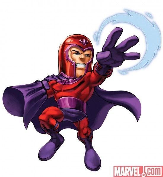 Magneto | Marvel Super Hero S - Magneto Clipart