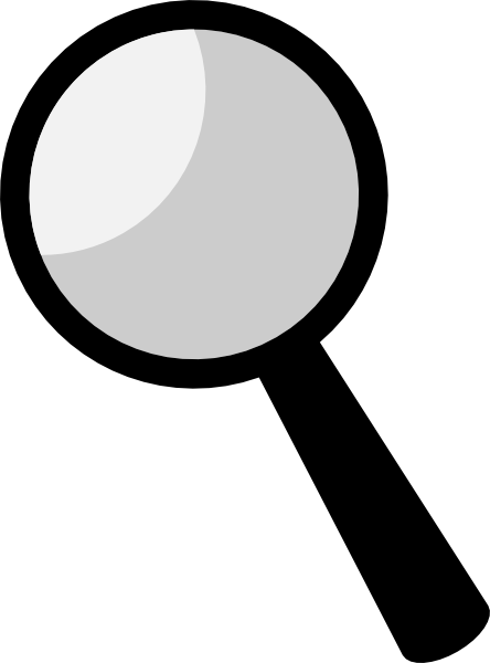 Magnifying Glass Clipart-magnifying glass clipart-9