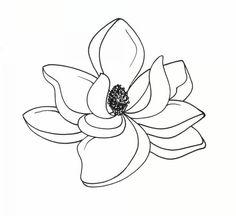 Magnolia Clip Art. Art - Magnolia Clipart