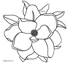 Magnolia Flower Clip Art-Magnolia Flower Clip Art-7