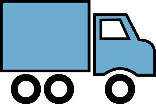 Mail Truck Clip Art Clipart