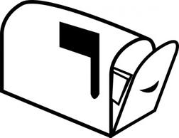 Mailbox 3 clip art-Mailbox 3 clip art-17
