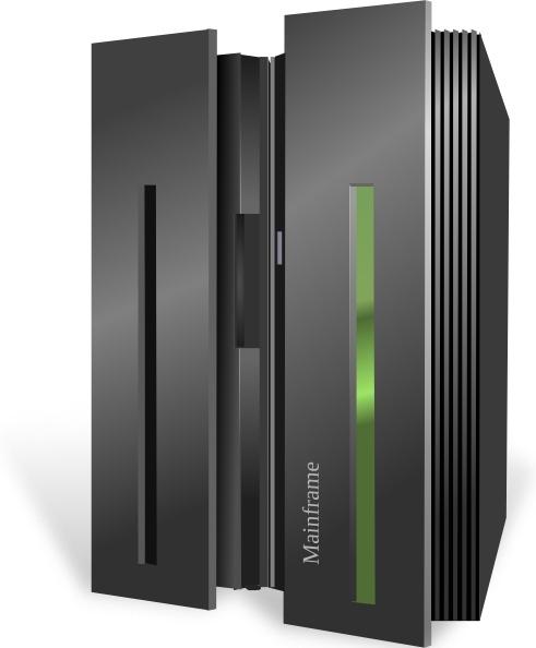 Mainframe Server Clip Art-Mainframe Server clip art-6