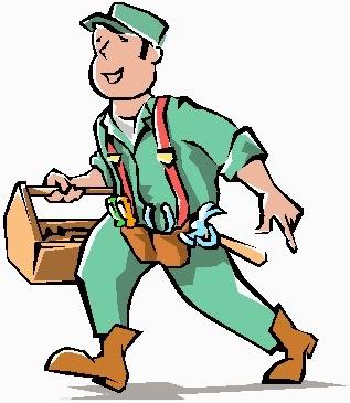 Maintenance Man Clip Art Free Clipart