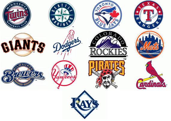 Mlb Team Logos Clip Art
