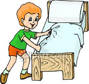 make bed clipart-make bed clipart-2