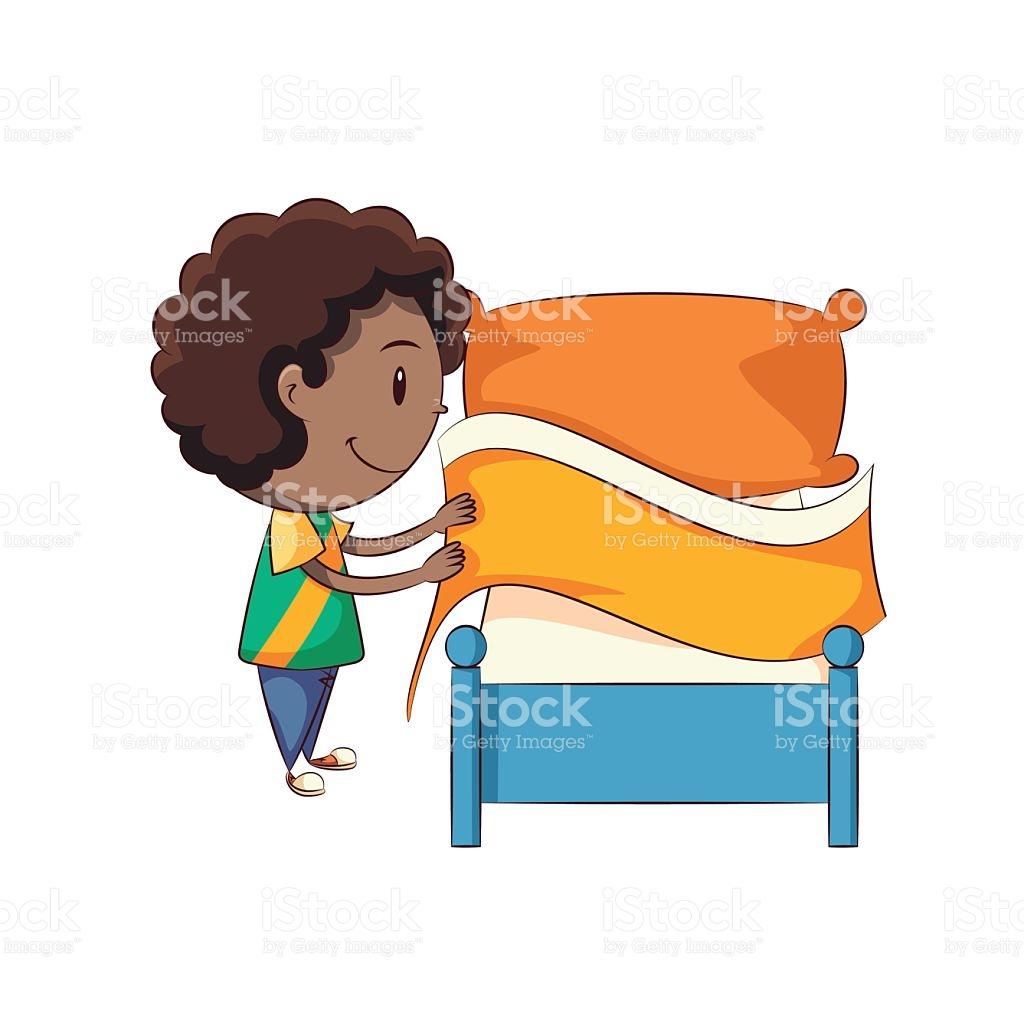 Make bed clipart ClipartFox