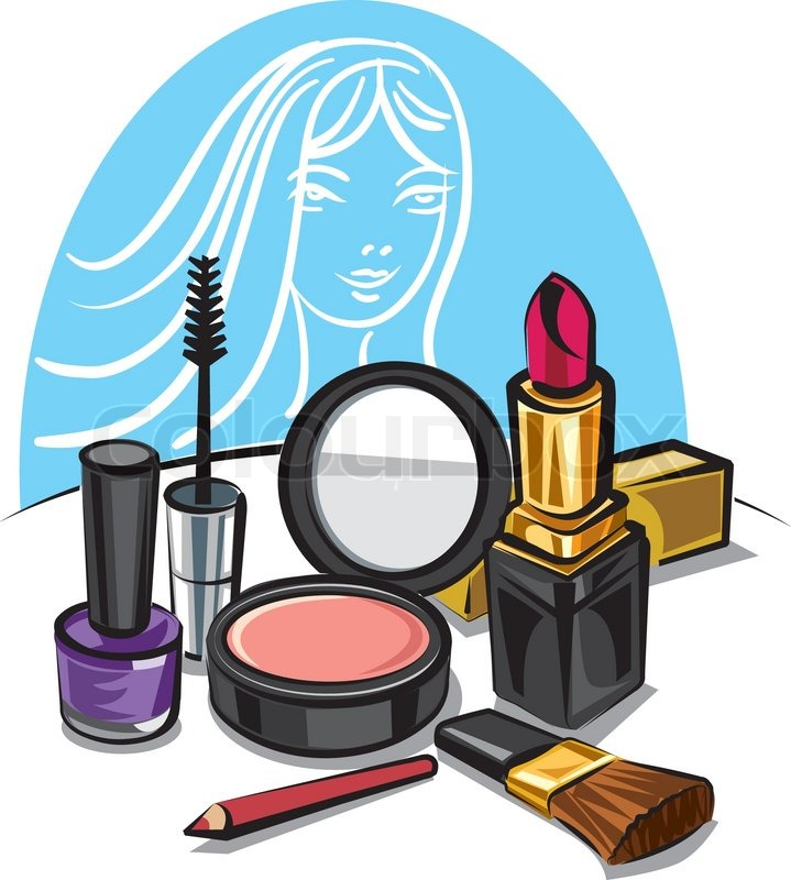 Makeup Kit Products Clipart-Clipartlook.com-719
