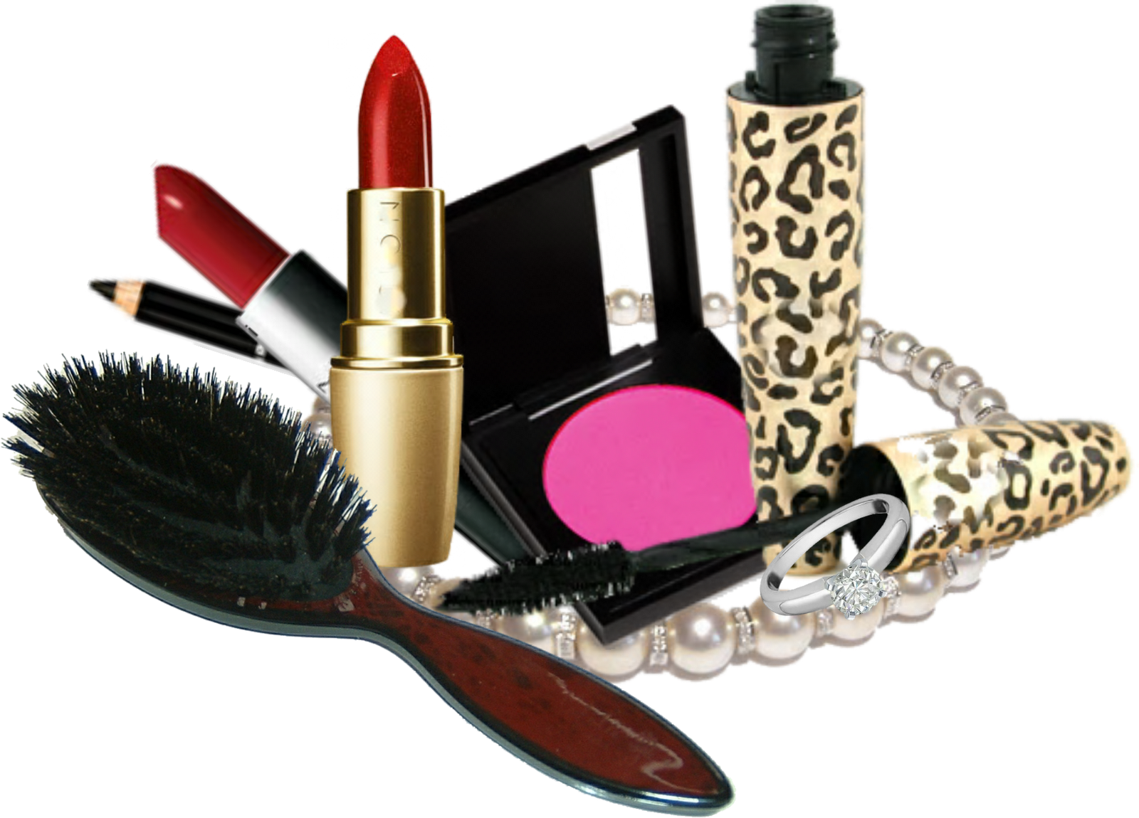 Makeup Kit Products Free Download PNG