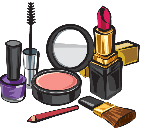 Makeup Set - Makeup Kit Products Clipart