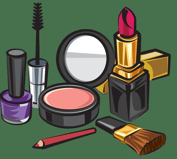 Makeup Set - Makeup Kit Products Clipart