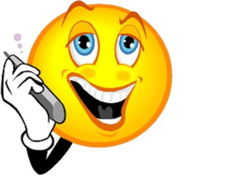Making A Phone Call Clipart