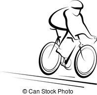 ... Male Cyclist - Vector illustration o-... Male Cyclist - Vector illustration of a man cycling.-15