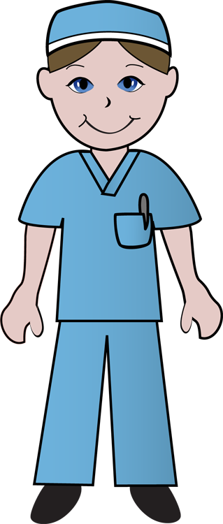 Male Nursing Clip Art