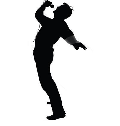 Male Singer Clipart #1