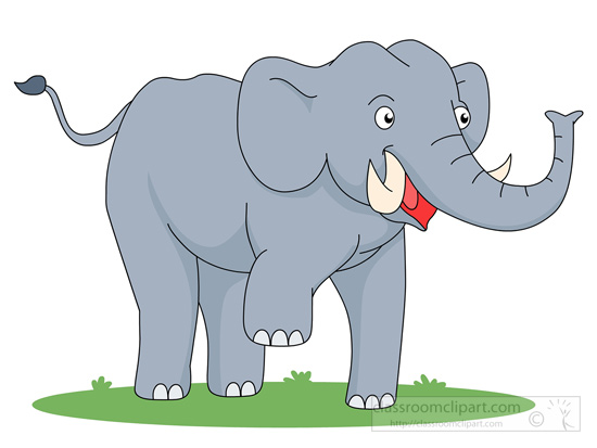 Mammals-elephant Standing Baby Elephant -mammals-elephant standing baby elephant clipart. Size: 38 Kb From: Elephant Clipart-18