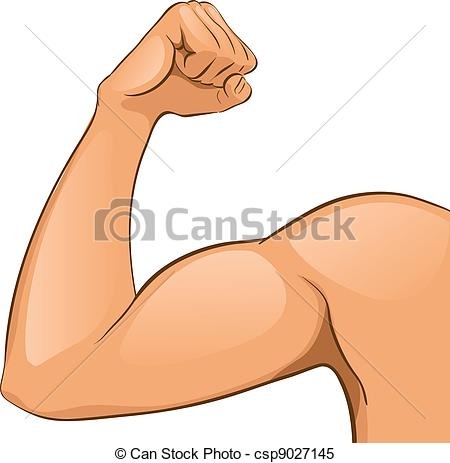 ... Manu0026#39;s Arm muscles. Vector Illustration. Helthcare. Abstract.