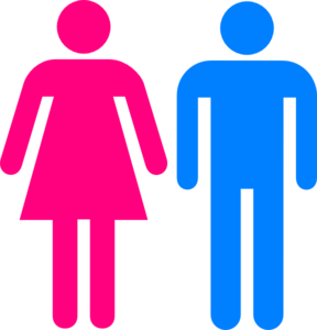 Man and woman clipart
