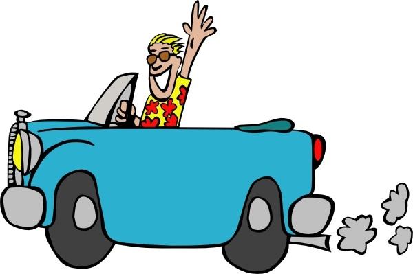 Man Driving Car clip art Free vector 135.20KB