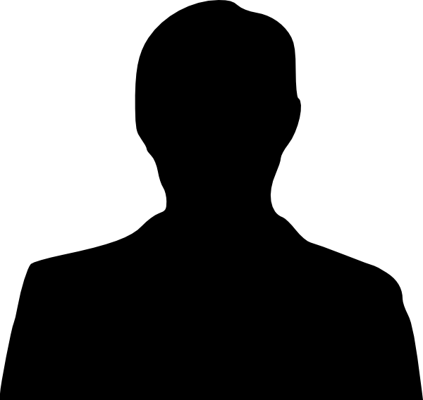 Man Silhouette Clip Art - vector clip art online .