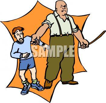 Man Threatening To Abuse A Boy Royalty F-Man Threatening To Abuse A Boy Royalty Free Clip Art Image-11