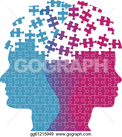 Man Woman Faces Mind Thought Problem Puz-Man woman faces mind thought problem puzzle-6