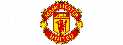 man united logo clipart vector