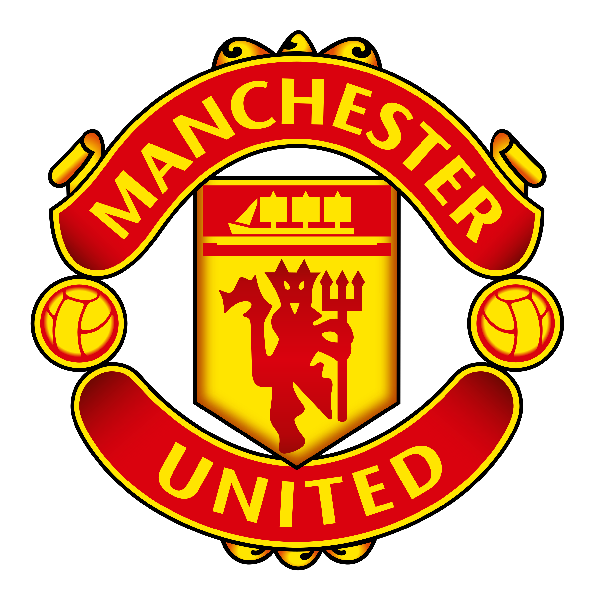 Manchester United logo png transparent