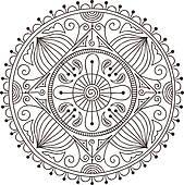Mandala u0026middot; Doodle mandala