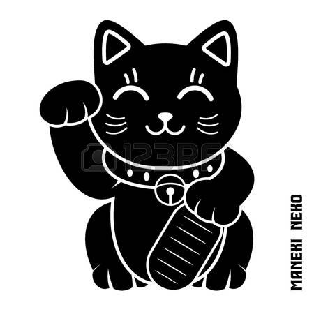 Vector Japanese Lucky Cat Illustration, -Vector Japanese Lucky Cat Illustration, maneki Neko, maneki cat, Dollar cat-21