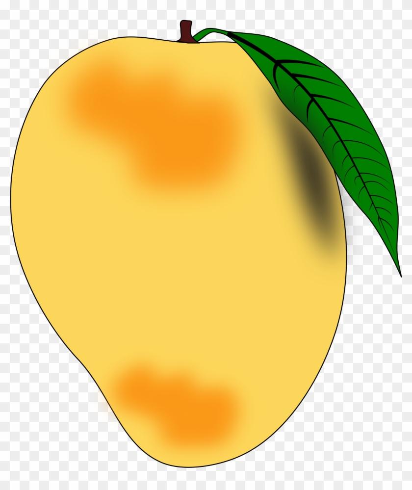 Mango Clip Art Images Black A - Mango Clipart