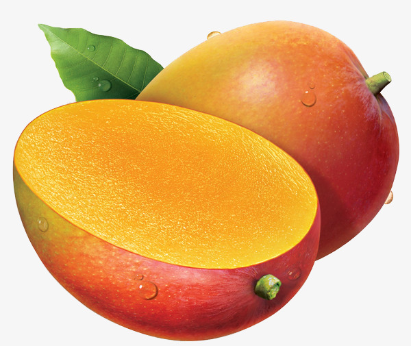 painted yellow mango, Mango C - Mango Clipart